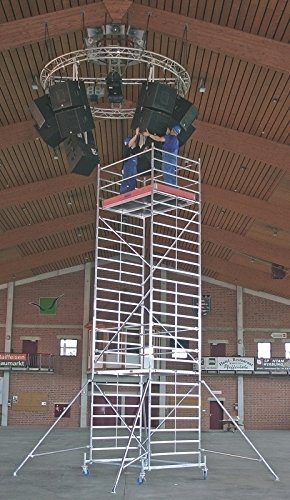 Krause lij232Gerüst für zwei Personen, 2000mm x 1500mm Plattform, 5,4m Länge