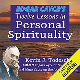 Edgar Cayce's Twelve Lessons in Personal Spirituality audiobook cover art