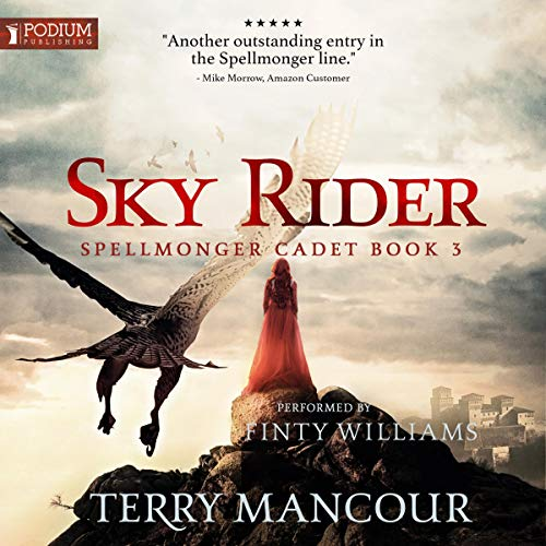 Sky Rider audiobook cover art