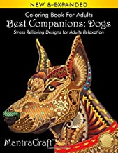 Coloring Book For Adults: Best Companions: Dogs: Stress Relieving Designs for Adults Relaxation