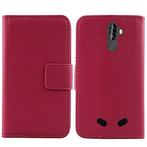 Gukas Design Echt Leder Tasche Für Blackview BV9000 Pro 5.7