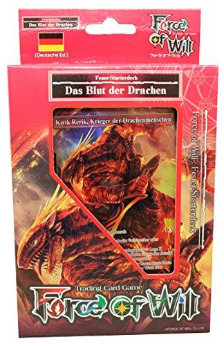CAGO Force of Will - Reiya Starterdecks - Deutsch (Feuer - Das Blut der Drachen)