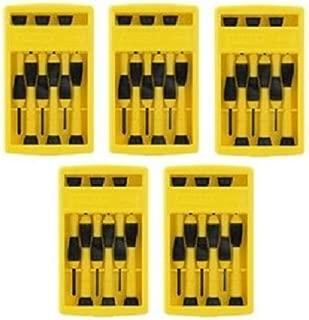 Stanley 66-052 6 Piece Precision Screwdriver Set (5 Pack)
