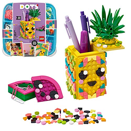 LEGO DOTS le Pot  Crayons Ananas, Kit de Fabrication de...