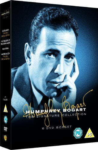 Humphrey Bogart Collection (6 Disc) (Casablanca , Treasure of Sierra Madre, Maltese Falcon , High Sierra) [Edizione: Regno Unito]