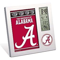 Wincraft Alabama Crimson Tide Digital Desk Clock