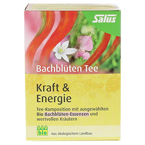 """SALUS Haus® Bachblüten Tee """"Kraft & Energie"""" 1 Pack 15 FBTL"""