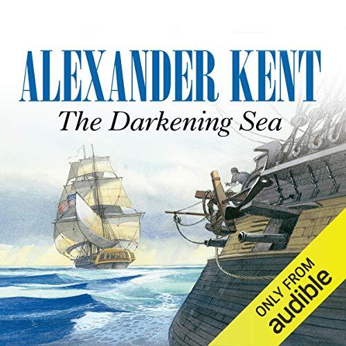 The Darkening Sea audiobook cover art