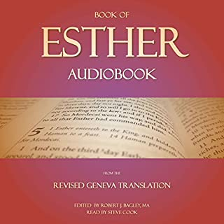 Book of Esther Audiobook: From the Revised Geneva Translation audiobook cover art