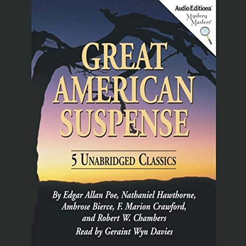 Great American Suspense audiobook cover art