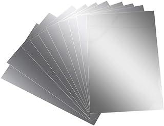 comprar comparacion AILANDA Espejos de Pared Autoadhesivo 10 pcs Espejos de plástico láminas Flexibles con Efecto Espejo Anti caída 15 x 10cm ...