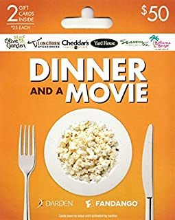 dinner and a movie gift card regal