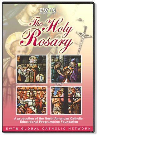 The HOLY Rosary in Stained Glass: EWTN 1-DISC DVD