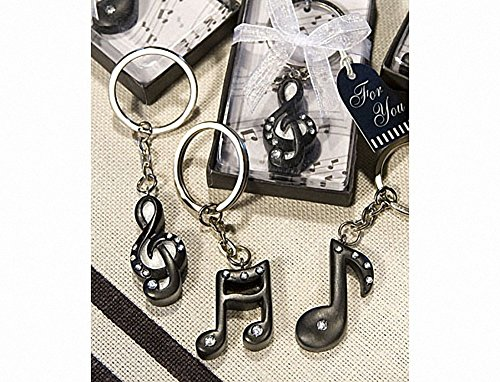 Musical Note Key Chain Favors, 1