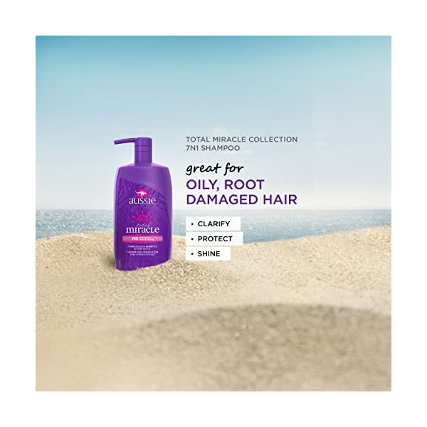Beauty Shopping Aussie Total Miracle Collection Shampoo, 26.2 Fluid Ounce