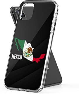 Case Phone Mexican Map and Flag Souvenir Distressed Mexico (5.8-inch Diagonal Compatible with iPhone 11 Pro)