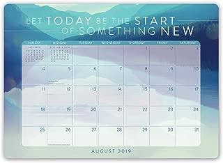 Orange Circle Studio 2020 Decorative Desk Blotter Calendar, Words to Live By