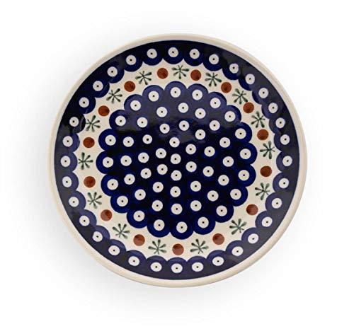Bunzlauer Assiette de Petit déjeuner/Repas Motif 41 Ø 19 cm
