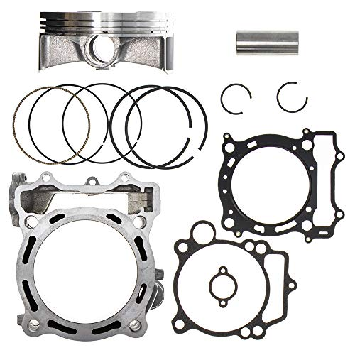 NICHE 450cc 95mm Cylinder Piston Gasket Top End Kit for 2004-2013 Yamaha YFZ450 5TA-11311-12-00 5TG-11633-10-00