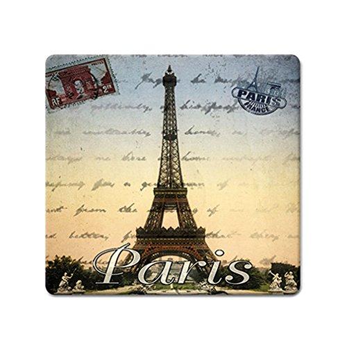 Souvenirs de France - Dessous de Plat Paris 'Tour Eiffel' en Verre