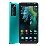 Clasken Smart Phone con cámara HD 3G 5MP + 2MP 1GB + 8GB 2200mAh Batería de Litio Soporte 128GB Extensión 5.45 Pulgadas Smart Phone para Gift Man(Green)