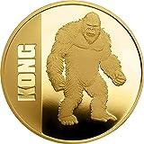 Power Coin Kong 1 Oz Moneda Oro 250$ Niue 2021