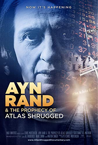 ISSICARHO Ayn Rand The Prophecy of Atlas Shrugged (2012) Movie Wall Art Pretty Poster Size 60cmx90cm(24