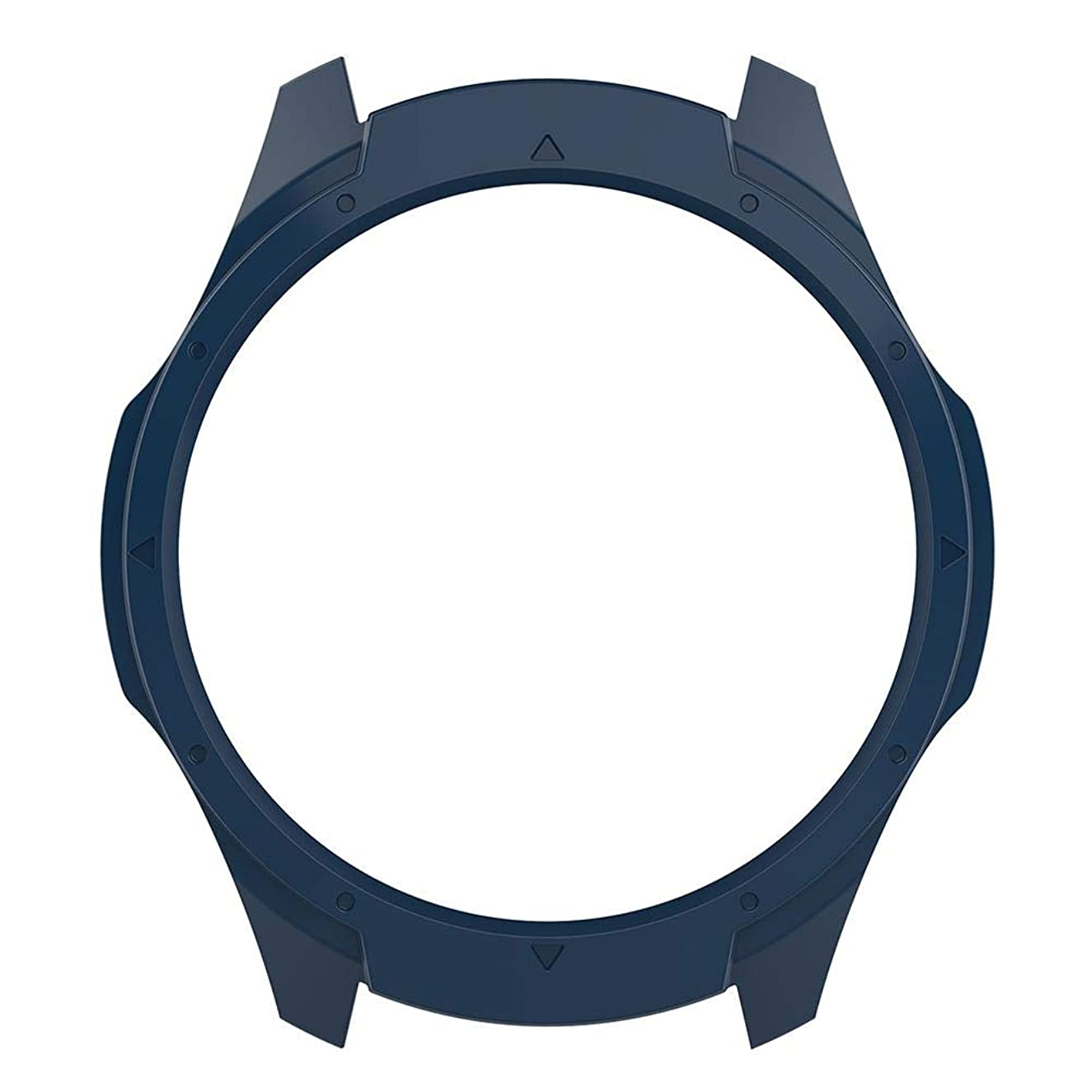 エゴマニア周辺伝染性casualcatch 保護カバー クリアケース Ticwatch S2 スマートウォッチ用