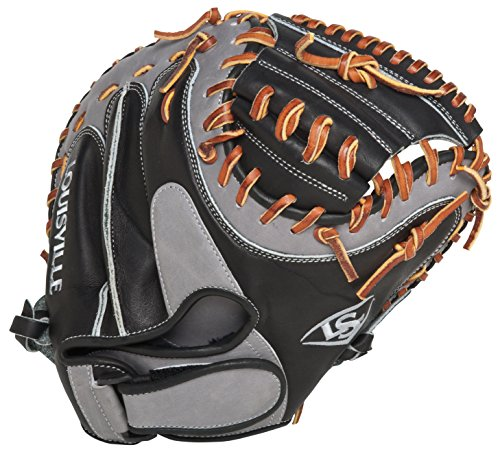 Louisville Slugger FGKTBK5 Katsu Black Fielding Glove (Catcher), Right Hand Throw
