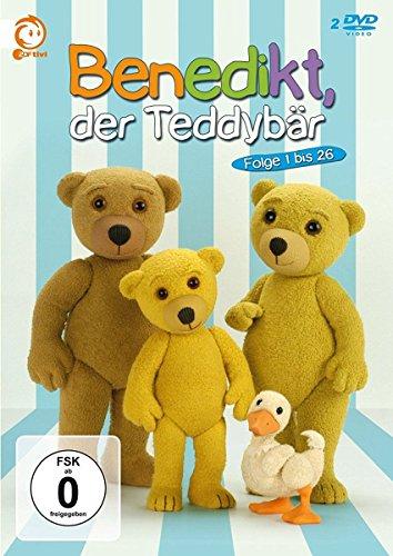 Benedikt, der Teddybär - Folge 1-26 [2 DVDs]