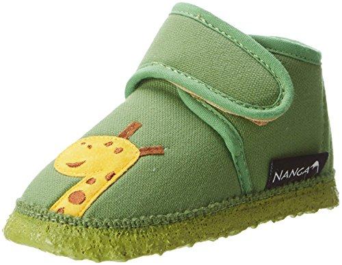 Nanga Baby Hausschuh AFFE grün 20