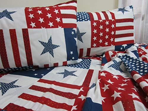 PAGO POCO Bettwäsche aus superweicher Mikrofaser, Design Amerika, für Einzelbett, Doppelbett, Neues Bett 2020! Una Piazza e Mezza Singolo