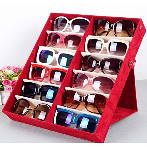 Scatola porta occhiali da sole con coperchio pieghevole per occhiali da sole (12 scomparti), organizer per gioielli e orologi, idea regalo per lui Sandali Adventure Seeker, punta chiusa - T - Bambini