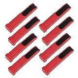XINMYD Amoladora de Punta de Taco de Billar, 8 Piezas de plástico, Amoladora de Punta de Taco de Billar, Recortadora, Herramienta de reparación de Palo de Billar, Accesorio