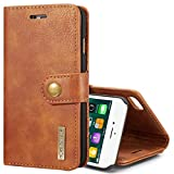 PROTECTIVECOVER + For IPhone 8 &7 Crazy Horse Texture Horizontale Horizontal Horizontal Boîtier de...