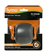 Fits the following Flymo machines: Flymo GardenVac 1500 Plus, GardenVac 1600 Plus, GardenVac 1800 Turbo, GardenVac 2200 Turbo, GardenVac 2500 Turbo, GardenVac Plus and GardenVac 2700 Turbo Original replacement wheel for your Flymo GardenVac Part numb...