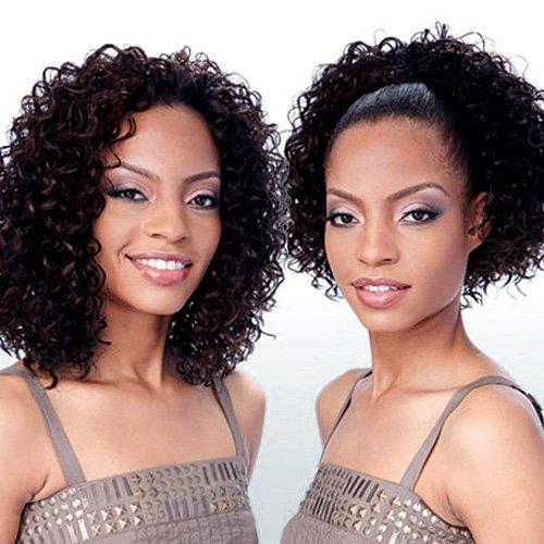CELTIC GIRL (TP4/30) - Freetress Synthetic Drawstring Fullcap Half Wig