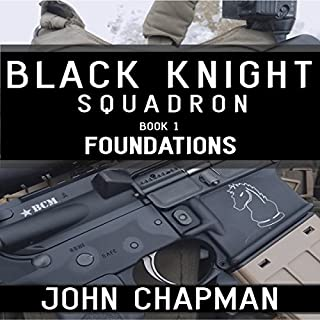 Black Knight Squadron: Book 1: Foundations audiobook cover art
