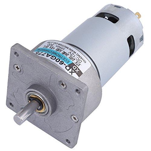 Motor de Micro Engranajes, Motor de Engranajes de CC XD-60GA775 35W 12V 200/300 RPM Utilizado en Puertas y Ventanas Automáticas de Parrilla (300 RPM)