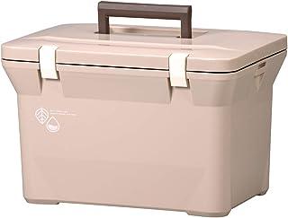 リブウェル(Livewell) 保冷 保温 クーラーボックス 小型 ナチュールクーラー 15L (カフェラテ)