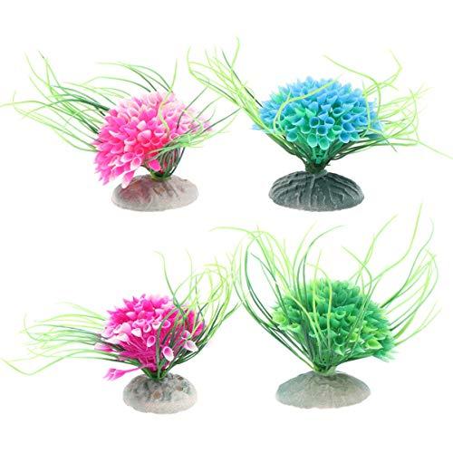 Gpzj Plastikpflanzen Lebendige Wassergras-Unterwassergras-Ornamentpflanzenlandschaft für Aquarium-Aquarium