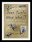Deep Purple Autogramme Signiert Und Gerahmt Foto