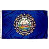 Sports Flags Pennants Company State of New Hampshire Flag 3x5 Foot Banner