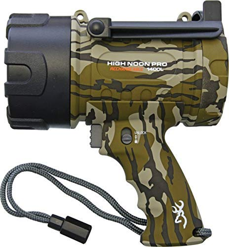 Browning High Noon Pro Rechargeable Spotlight Mossy Oak Original Bottomlands review