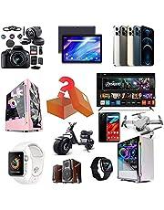 Mystery Box Electronics - Mystery lådor kan öppnas: Smart Watch, luftrenare, de senaste mobiltelefonerna, dronen etc, överraskninggåva, allt är möjligt