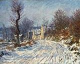 Art-Galerie Digitaldruck/Poster Claude Monet - La Route de