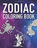 ZODIAC COLORING BOOK: Stress Relief Coloring Book For Adults | Astrology Signs | 8,5x11'