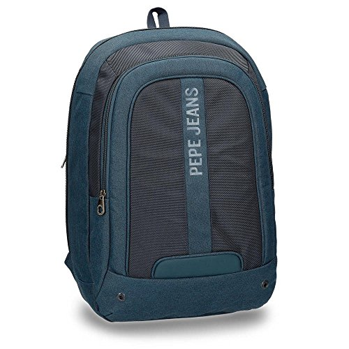 """Pepe Jeans Greenwich Blue Laptop 15,6"""" Backpack"""