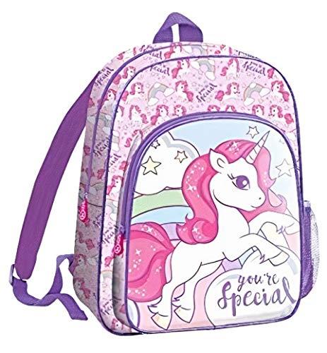 Kids 41Cm de Unicornios Mochila Tiempo Libre y Sportwear Infantil, Juventud Unisex, Multicolor (Multicolor), 41 Cm