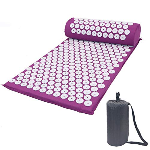 Sale!! SSLLPPAA Acupressure Massager Mat Relaxation Relief Stress Tension Body Yoga Mat Relieve Body...